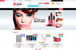 Beauty-Shop Cosmetics HTML шаблон