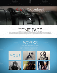 Copperhead Wordpress шаблон