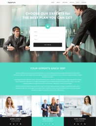 Expertum One-Page WordPress