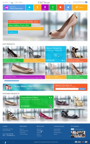 Fashion-Boutique HTML шаблон