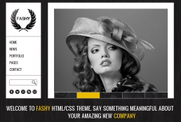 Fashy-Fashion HTML шаблон