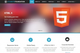 Foundation 4 Business Theme HTML