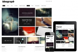 Ideograph Responsive WordPress шаблон