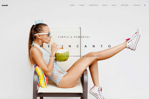 Incanto Multipurpose HTML шаблон