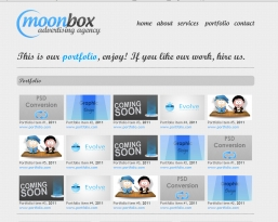 MoonBox-Website HTML шаблон